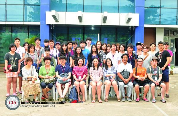 Chào đón đoàn học viên đầu tiên năm 2015
