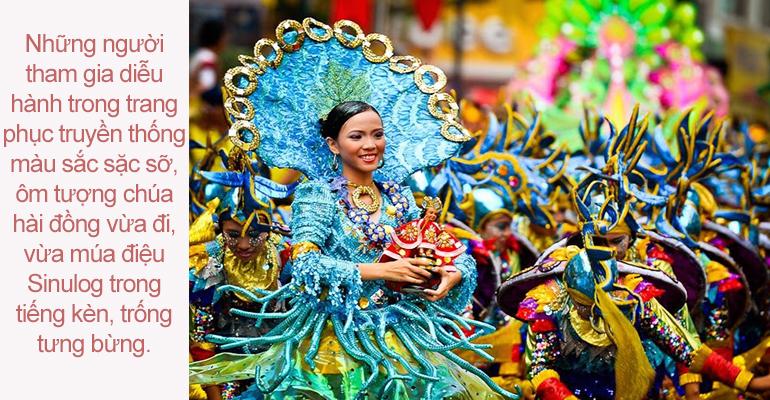 Hân hoan chào đón Lễ hội Sinulog 2015