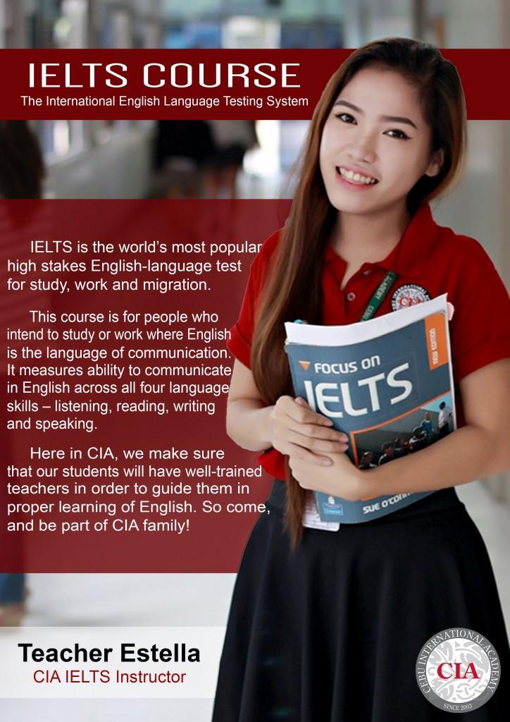 Một trong những giáo viên IELTS - Estella