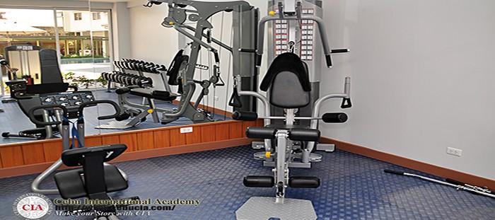 Phòng tập Gym cao cấp tại CIA