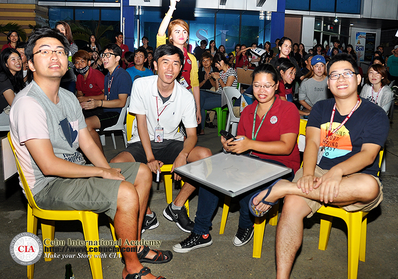 Học viên Việt Nam tham dự chương trình.