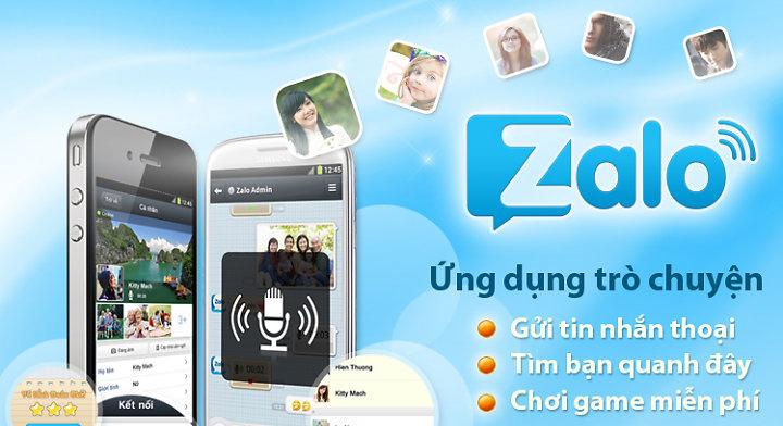 Cài phần mềm Zalo