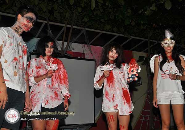 Lễ hội Halloween tại trường Anh ngữ CIA