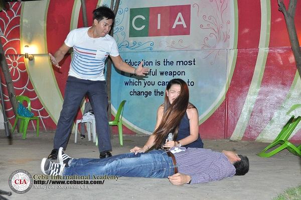 Hoạt động diễn kịch tại Học viện Anh ngữ CIA