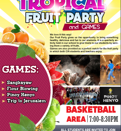 CIA SINULOG 2019 _ Fruit Party