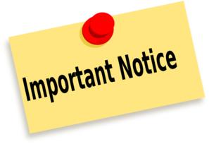 Special class notice 2015 Dec