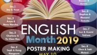 Poster Making – Kỷ niệm tháng tiếng Anh cùng CIA
