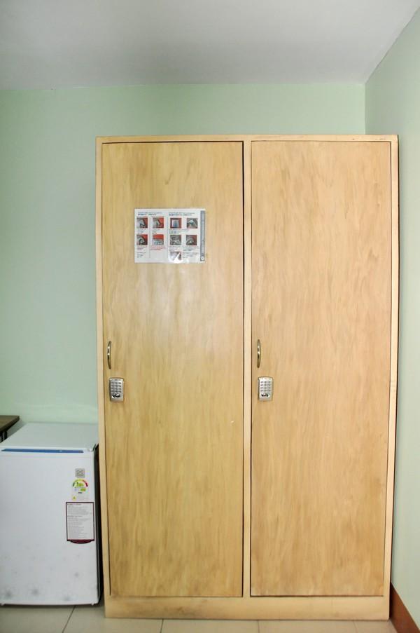 Tủ đựng đồ có mã khóa