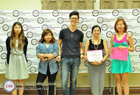 Cuộc thi thuyết trình lần thứ 96 tại trường CIA (Cebu International Academy)
