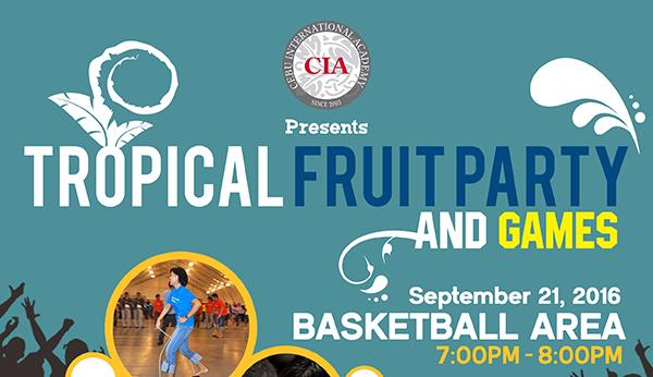 Tiệc trái cây tháng 9 tại CIA